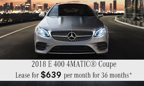 2018 E 400 4MATIC® Coupe
