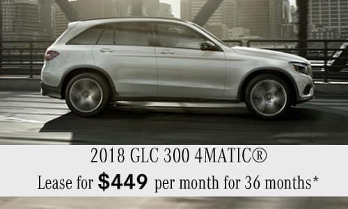 2018 GLC 300 4MATIC®