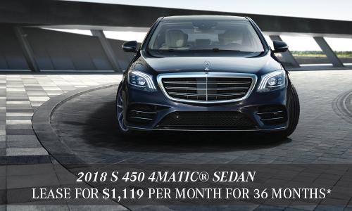 2018 S 450 4MATIC® Sedan