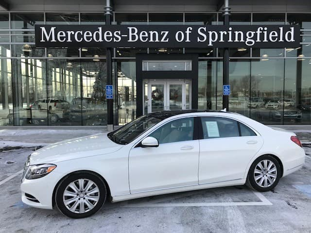 Certified Pre-Owned 2015 Mercedes-Benz S 550