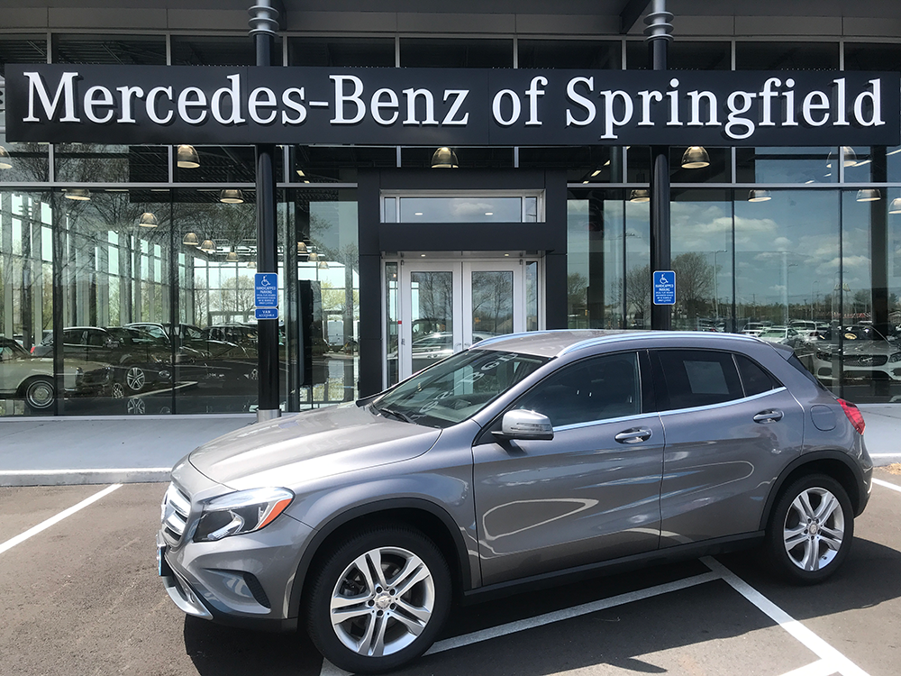 Certified Pre-Owned 2015 Mercedes-Benz GLA250 4MATIC®