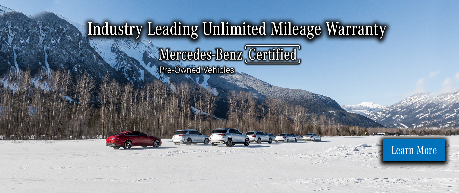 Winter Event - CPO Hero - Unlimited Leading Mileage Warranty
