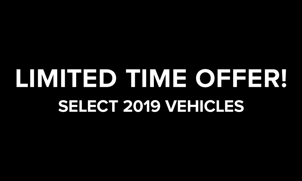 2019 Mercedes-Benz Limited Time Offer!