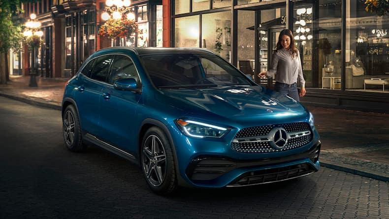2021 Mercedes-Benz GLa model