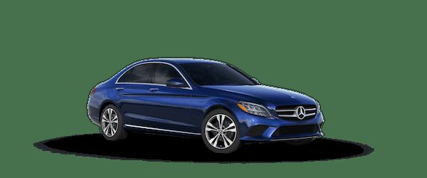 2020 Mercedes-Benz C 300 in Briliant Blue Metallic