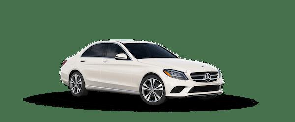 2020 Mercedes-Benz C 300 in designo Diamond White Metallic