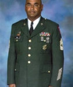 Charles Hall Retired 1SG