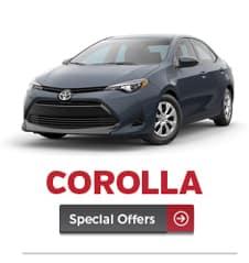 corolla specials