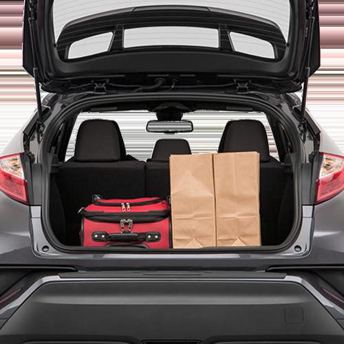 Toyota CH-R Cargo Space