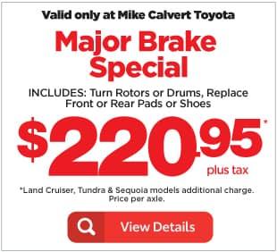 Brake Special Houston TX