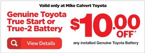 Genuine Toyota Battery Houston TX