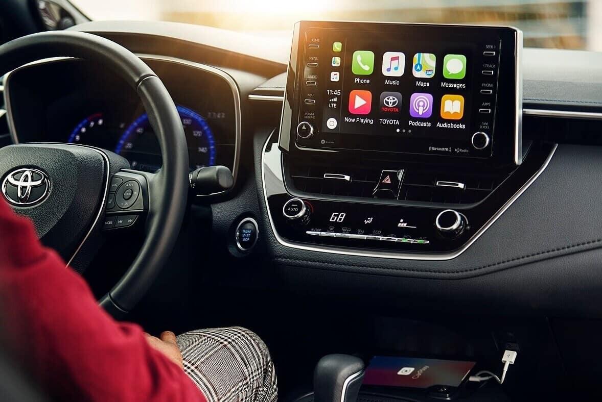 Toyota Corolla Apple CarPlay®