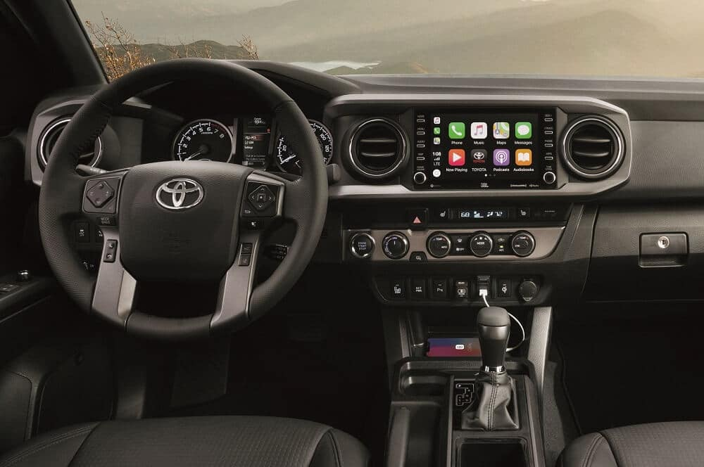 Toyota Tacoma Interior Apple CarPlay®