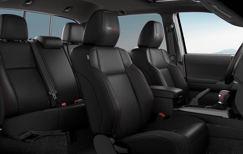 2020 Toyota Tacoma Interior Seats