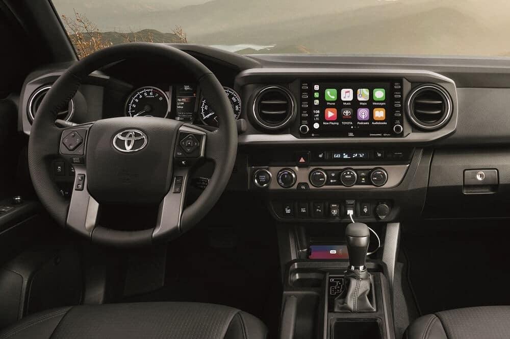2020 Toyota Tacoma Interior Apple CarPlay® Technology