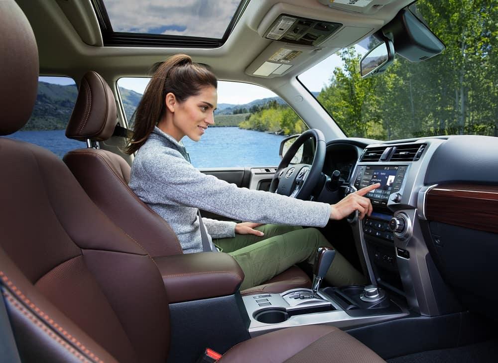Toyota 4Runner Interior Space