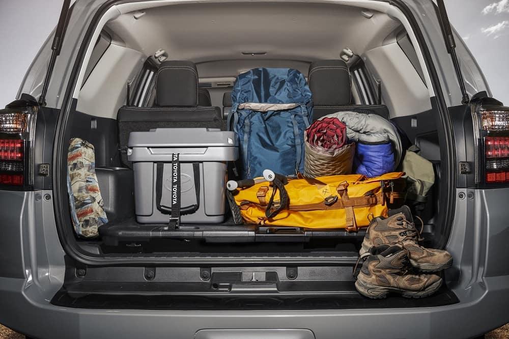 2021 Toyota 4Runner Interior Cargo Space