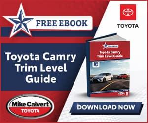 Toyota Camry Trim Level Guide eBook
