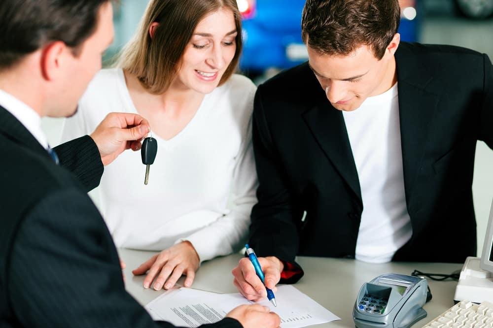 Financing at Dealership