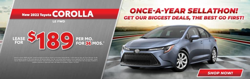 New 2022 Toyota Corolla LE AWD
