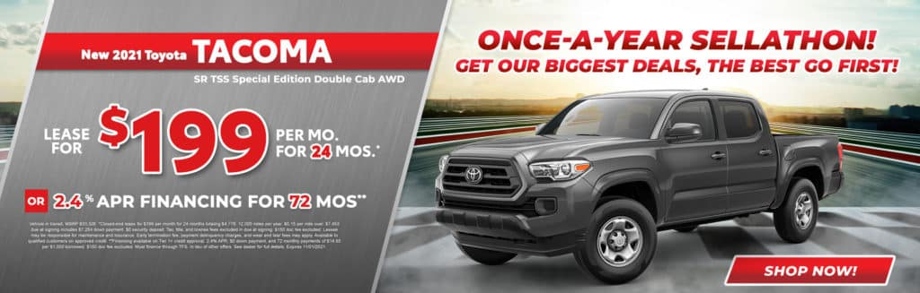 New 2021 Toyota Tacoma SR TSS Special Edition Double Cab