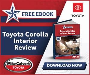 Toyota Corolla Interior Review eBook