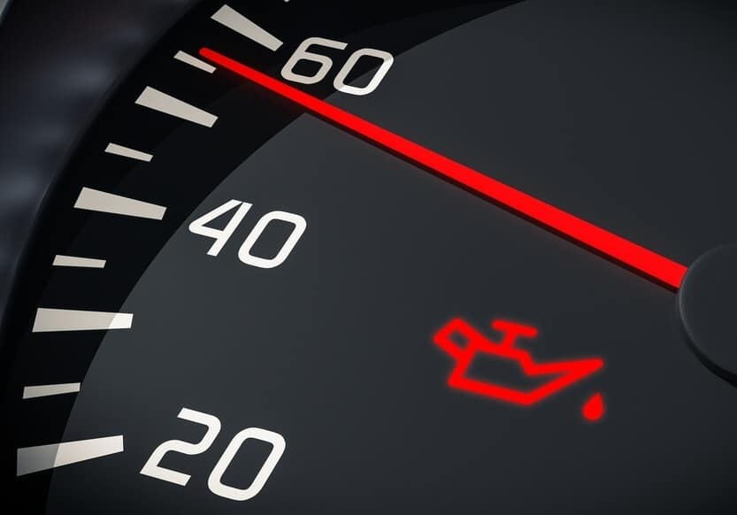 Change Oil Dashboard Light