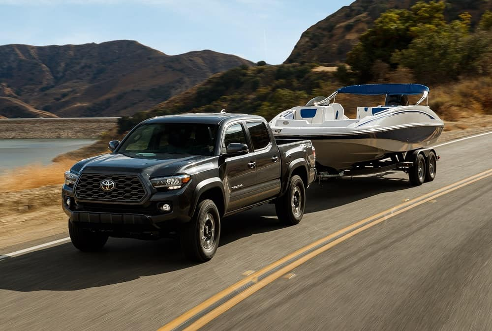 2021 Toyota Tacoma Towing Power