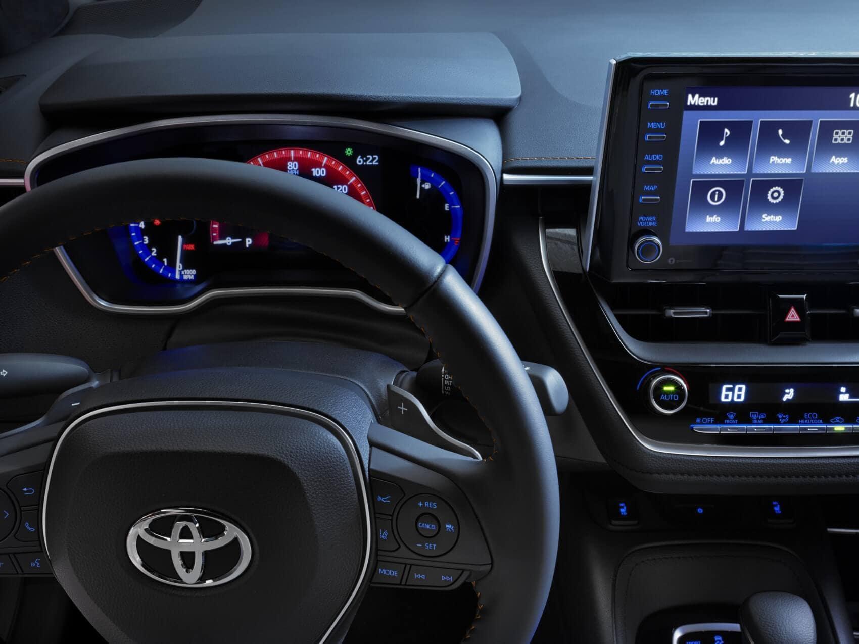 Toyota Corolla Interior Technology