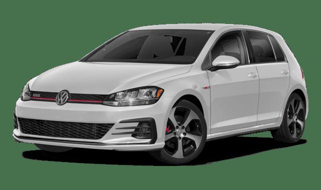White 2018 VW Golf GTI