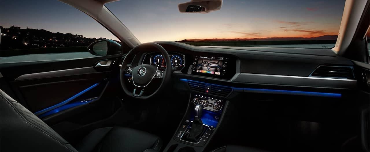 2019 VW Jetta interior dashboard