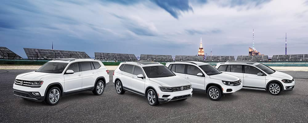 2018 Volkswagen 4Motion AWD models