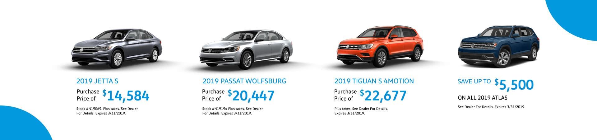 Volkswagen March Deals