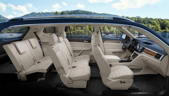 2019 Volkswagen Atlas Interior Dimensions