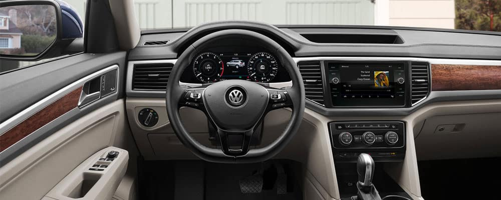 2019 Volkswagen Atlas Interior Driver View