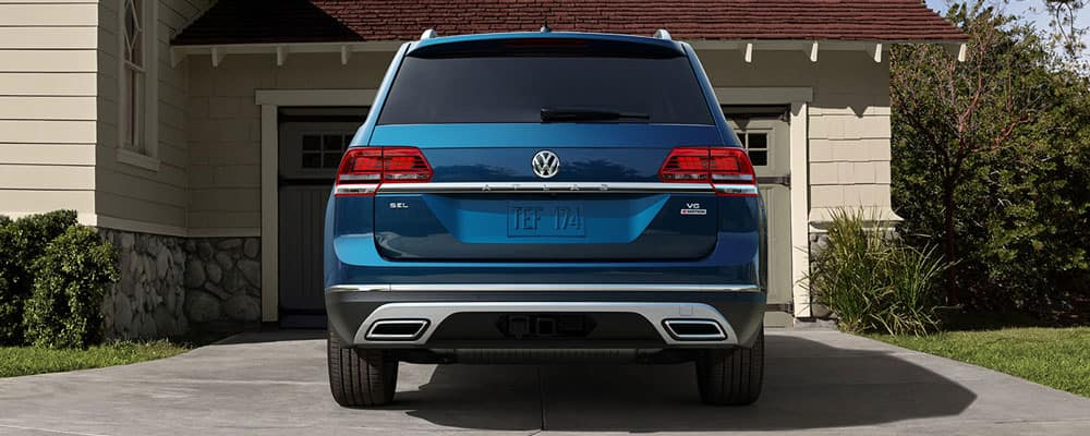 2019 Volkswagen Atlas Rear View