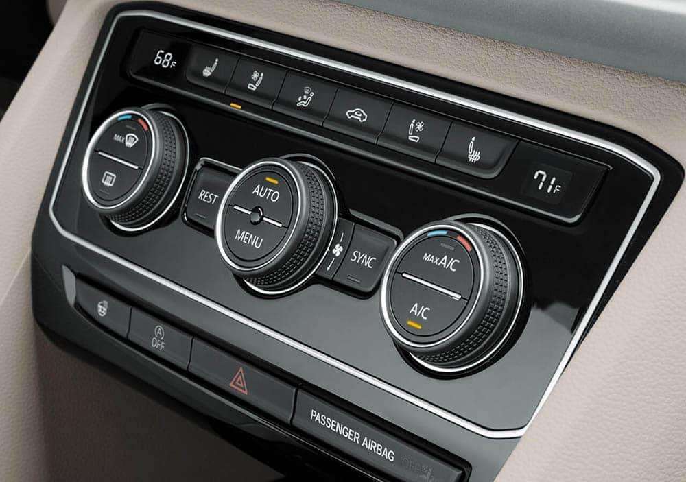2020 VW Atlas Climate Control