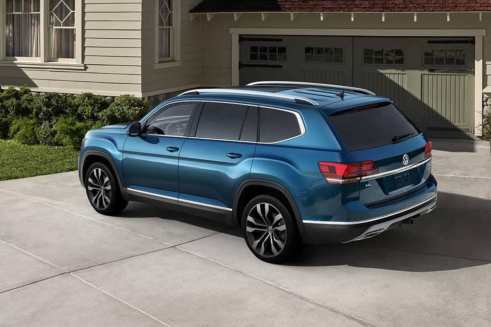 2020 VW Atlas In Driveway