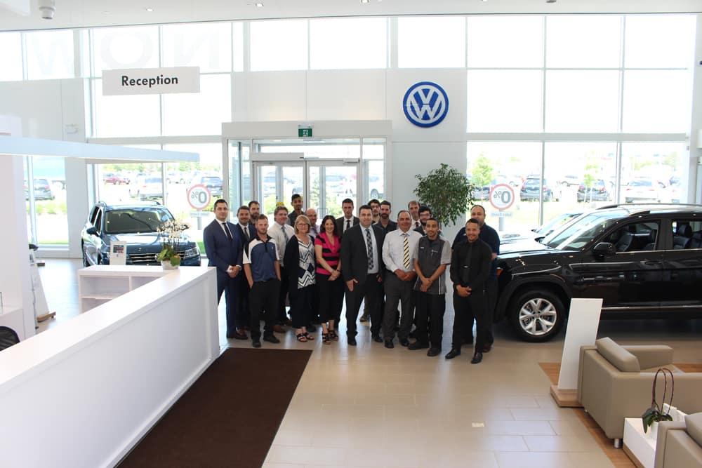 Milton Volkswagen Staff