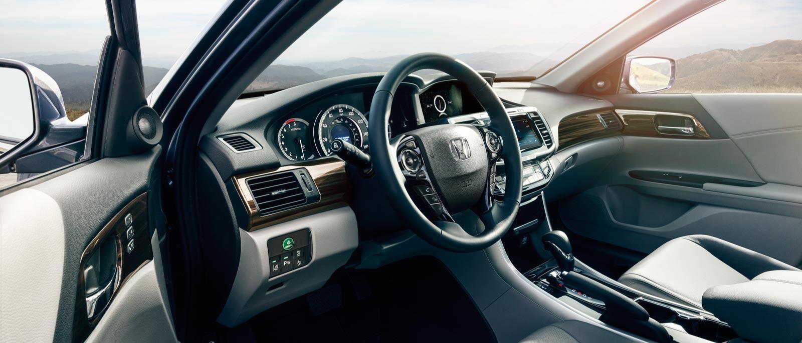2016 Honda Accord Front Interior