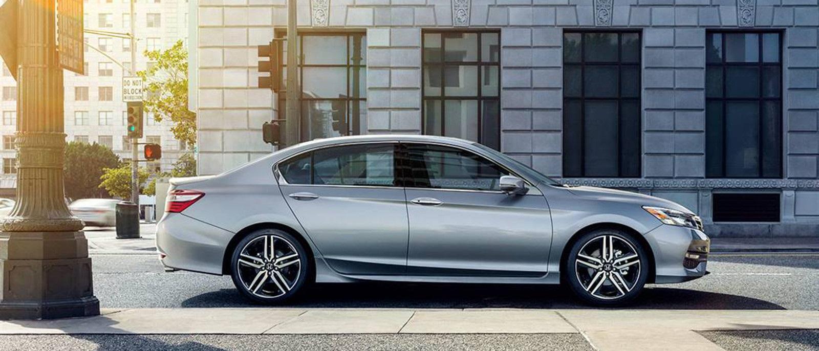 2016 Honda Accord Gray Profile