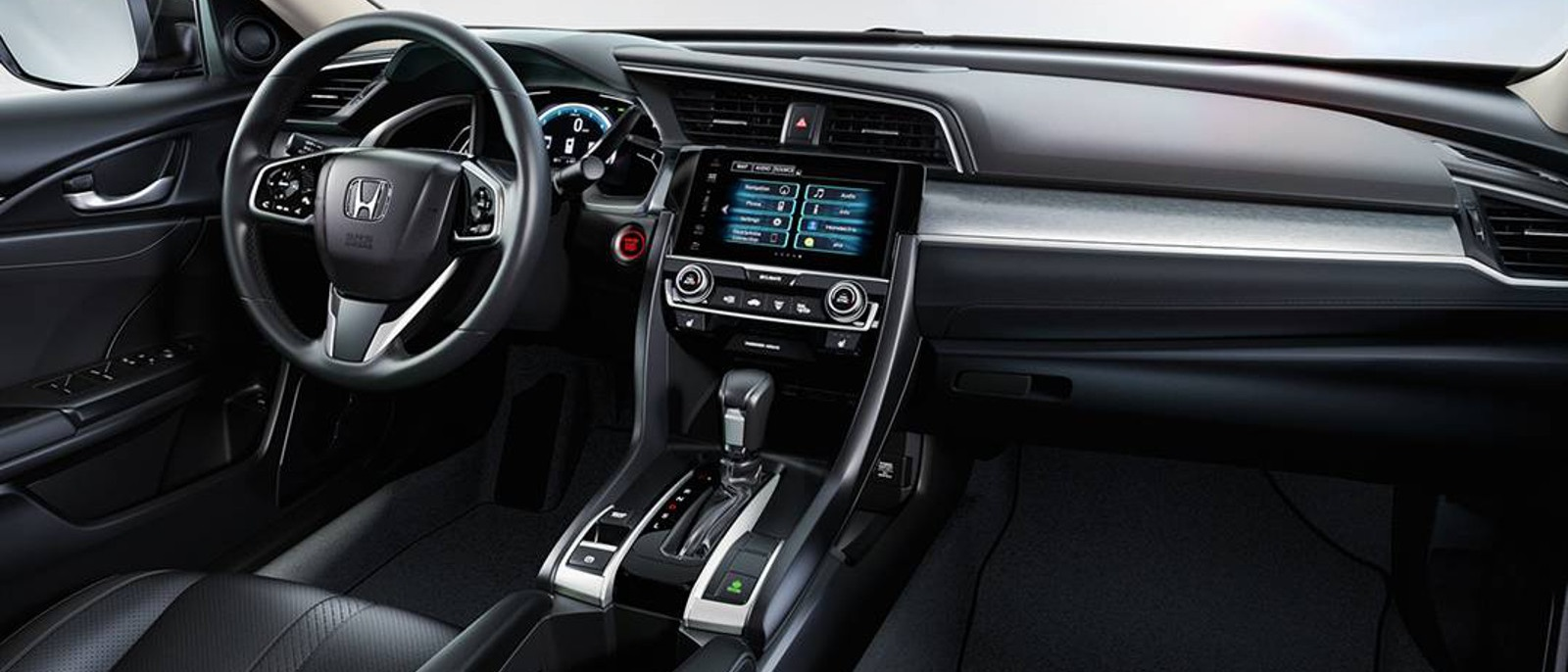 2016 Honda Civic Front Interior