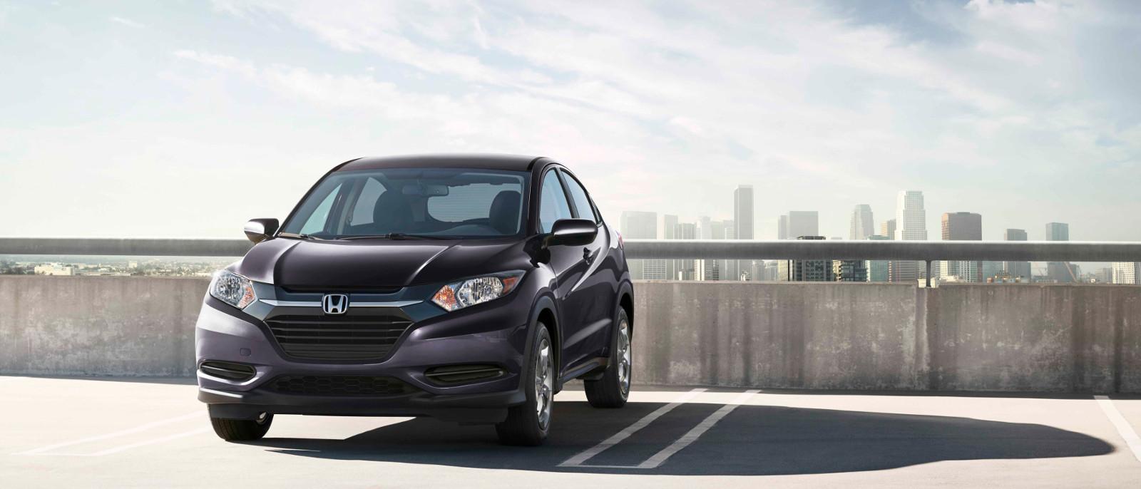 2016 Honda HR-V Mulberry Metallic Color