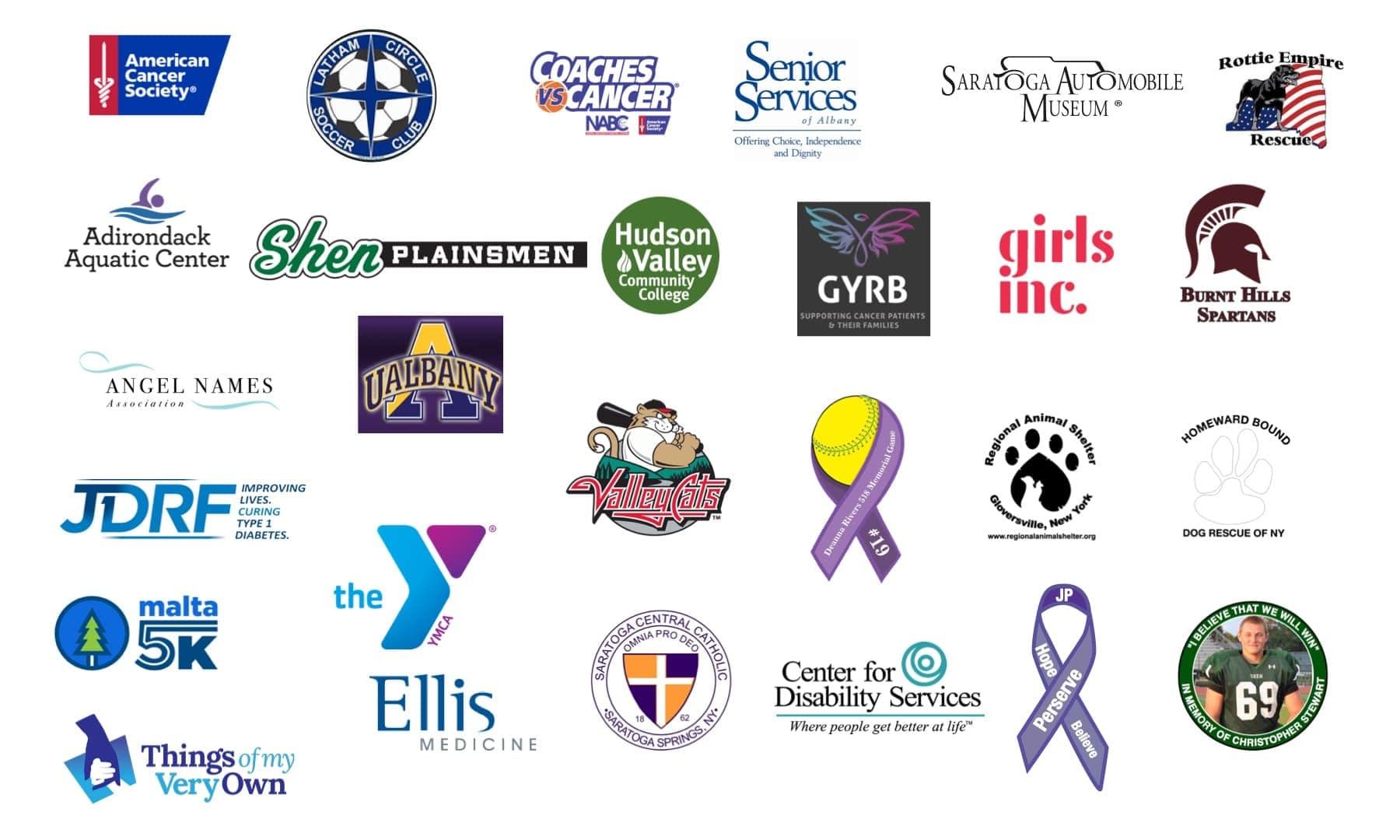 Charities we sponsor