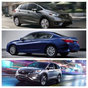 Three 2015 Honda Models Make The 10 Best Family Cars List