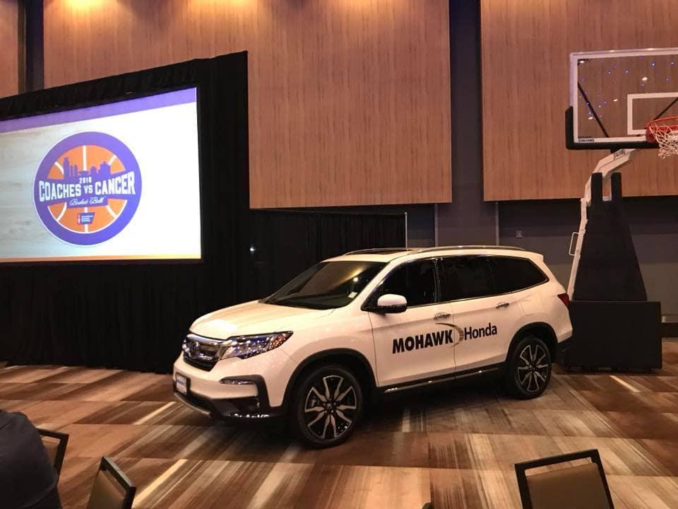 Mohawk Honds Coaches Vs Cancer Basketball Community Involvement