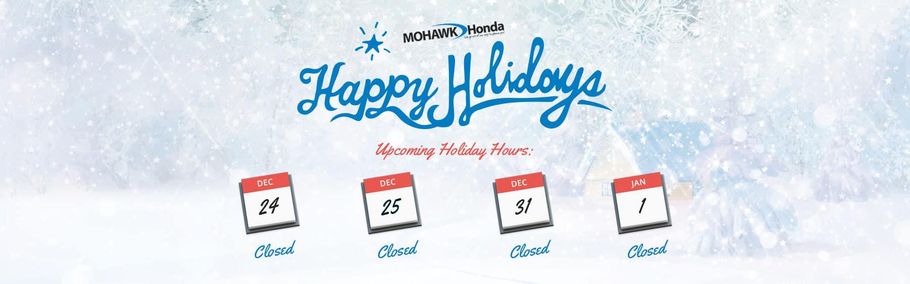 Honda dealer in scotia ny mohawk honda for Honda dealership hours