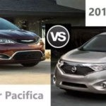 Mount Airy 2017 Chrysler Pacifica vs. Nissan Quest