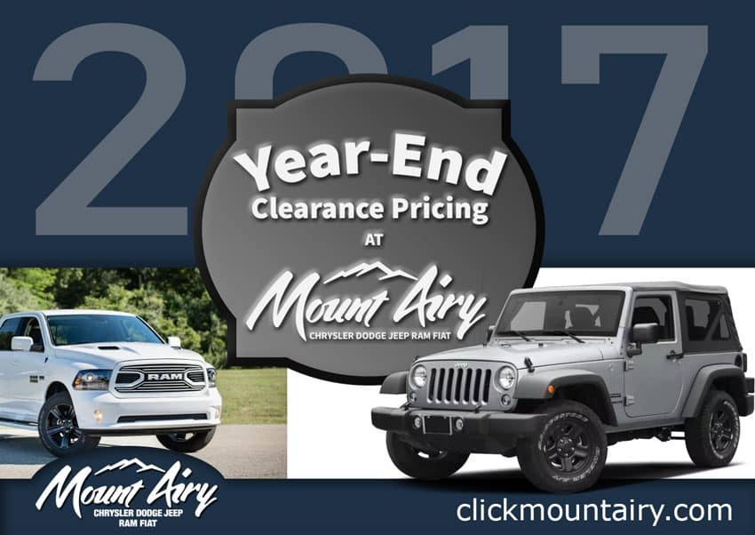 Jeep end of year sale