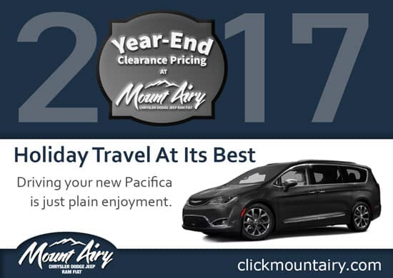 2017 Chrysler Pacifica, Family Vehicles, Mount Airy NC, Chrysler Mount  Airy, Chrysler